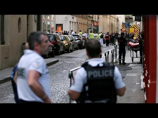 Взрыв в Лионе полиция ищет подозреваемого