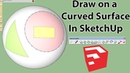 How To Use Tool on Surface Plugin For SketchUp