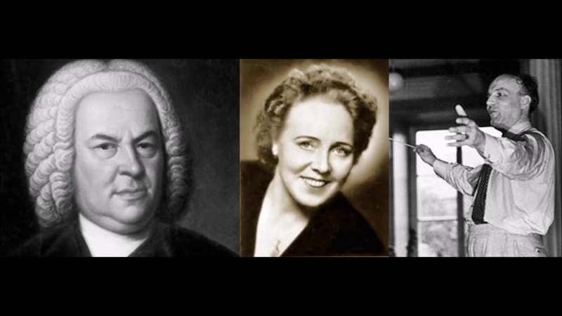 Elisabeth Höngen Vergnügte Ruh, beliebte Seelenlust J.S. Bach