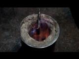 Изготовление простого таёжного ножа своими руками _ Making a simple handmade taiga knife
