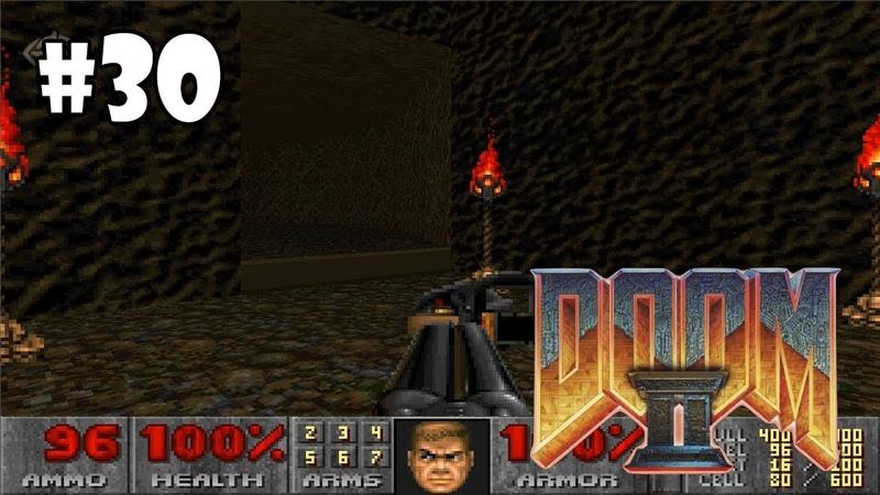 Doom II Hell on Earth прохождение игры - Уровень 28 The Spirit World (All Secrets Found 100)