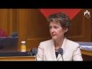 Wir haben auch eine Merkel in der Schweiz Sie heisst Bundesrätin Somaruga (Sozi)