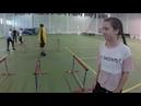 Тренировка спринта в Пансионе воспитанниц МО РФ с С А Шаракиным