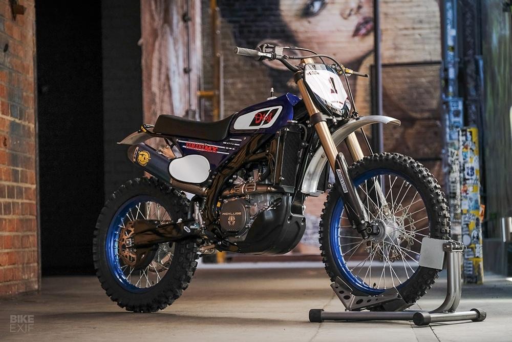 Deus: кастом Yamaha YZ450FX