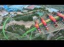 Головокружительная съемка аттракциона с дрона в Китае