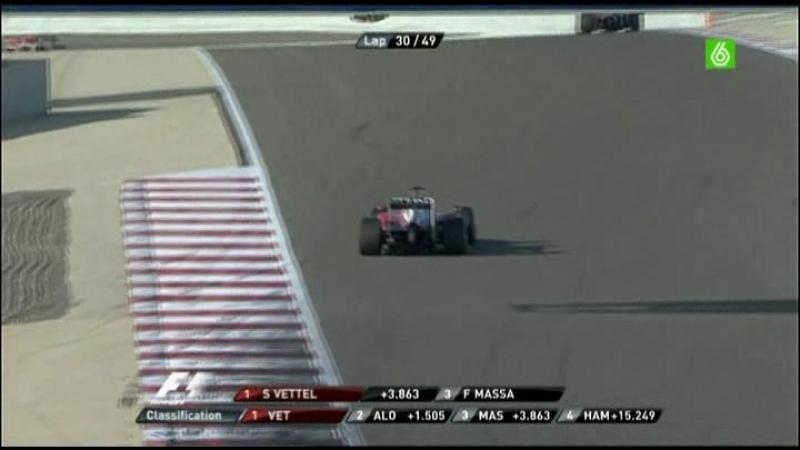 1.Carrera F1 Gp Bahrein 2010