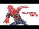 Marvel Legends Iron Spider Avengers Infinity War Thanos BAF Wave Movie Hasbro Figure Toy Review