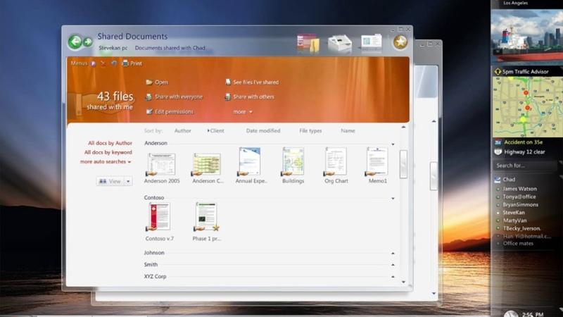 Hillel Cooperman - PDC 2003 Windows Longhorn AERO Presentation (HD)