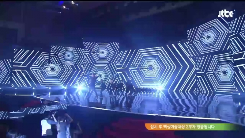 EXO-K 축하공연 백상예술대상 50회 1부