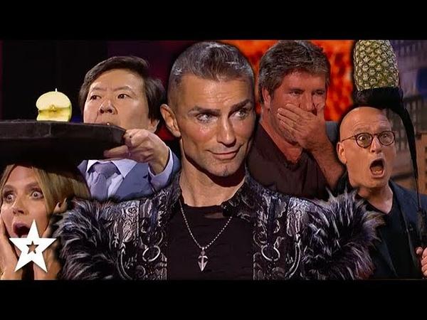 MOST DANGEROUS AUDITIONS on America's Got Talent 2018   Got Talent Global