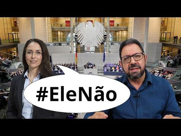 Apoio da Alemanha a Haddad/Lula desmonta Bolsonaro