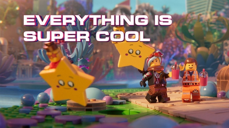 The LEGO Movie 2 - Super Cool - Beck feat. Robyn The Lonely Island (Official Lyric Video)