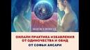 Практика Избавления от одиночества и обид от Софьи Ансари. Система Моя Вселенная