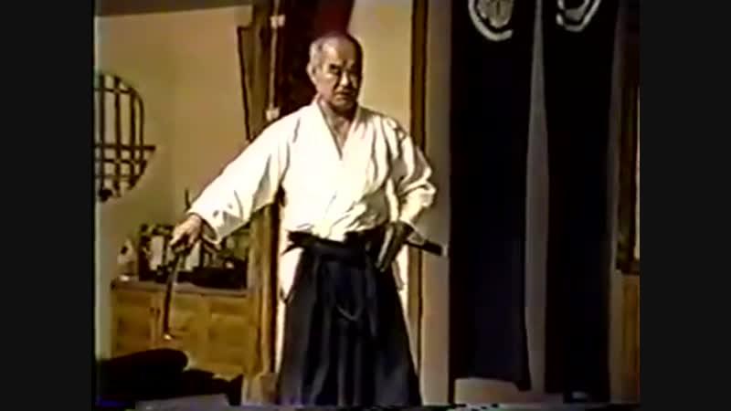 Казуо Чиба Сенсей Класс Иайдо Ноябрь 2002 г