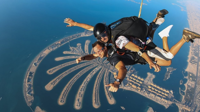 SKYDIVE DUBAI Tandem Pro