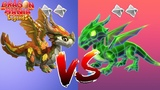 Wow! LASER vs FALL ! ENCHANT DRAGON BATTLE Dragon Mania Legends part 1279 HD