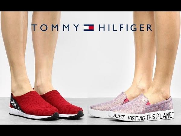 NUEVOS ZAPATOS Tommy Hilfiger 2019 | Alpargatas, Tenis Otoño Invierno Nueva Colección Moda Mujer