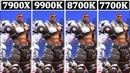 I9 9900K vs I7 8700K vs I7 7700K vs I9 7900X Tested 13 Games