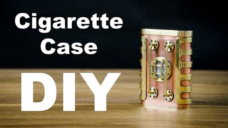 Steampunk Cigarette Сase How to Make DIY 2