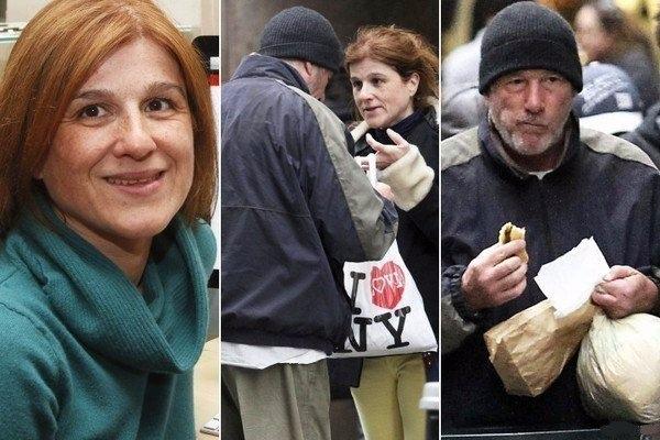 Французский транс турист отдал уличному бродяге свою пиццу. Он стал знаменитым, потому что уличным