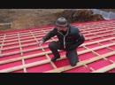 Как смонтировать и утеплить крышу rfr cvjynbhjdfnm b entgkbnm rhsie