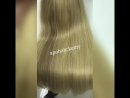 Vietnamese Hair extensions, blond color