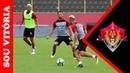 Carpegiani faz ajustes no Vitória para pegar o Flamengo