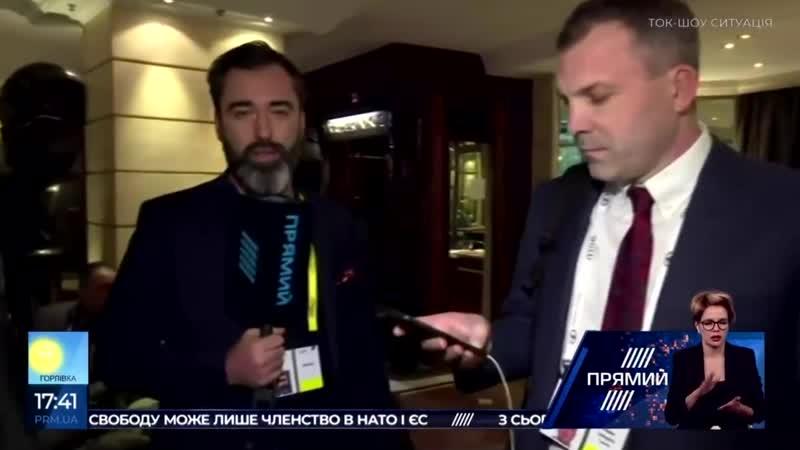 Евгений Попов отказался ответить на вопрос о чести его жены Ольги Скабеевой 1