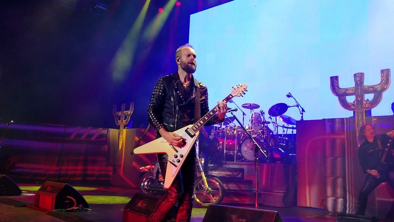Judas Priest - Hell Bent For Leather Michigan Lottery Amphitheatre at Freedom Hill 8-24-18