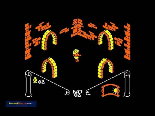 Knight Lore for Amstrad CPC