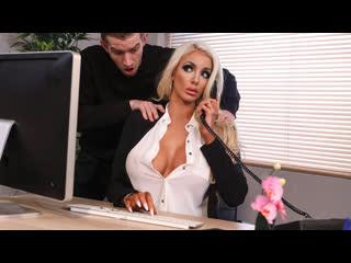 Nicolette shea (massaged on the job / 22.04.2019) [all sex, blowjobs, big tits, 1080p]