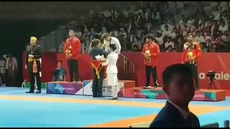 Қазақ Тарихында алғашқы рет Джиу-джитсу дан Азия ойындарының Чемпионы