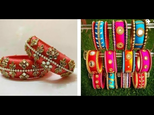 Latest Silk Thread Bangles Designs