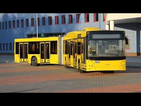 Автобус Минска МАЗ-215, гос.№ АС 3034-7, марш.54 (02.01.2019)