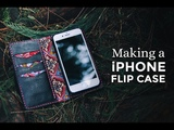 Making a iPhone Leather Flip Case