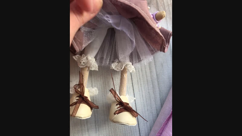 Текстильная куколка Софи