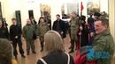 Казаки поют песни после выборов атамана Казачьей стражи казачий круг закрыт 25 11 2018 г