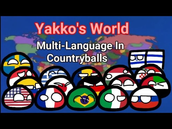 Yakko's World Multi-Language In Countryballs