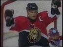Alexei Yashin scores the first goal of his best NHL season 1998