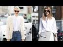 Белая рубашка - стильная и универсальная вещь в гардеробе любой современной женщины