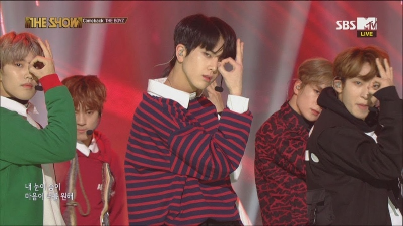 THE BOYZ, No Air [THE SHOW 181204]