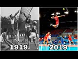 100 Years Volleyball Evolution (HD)