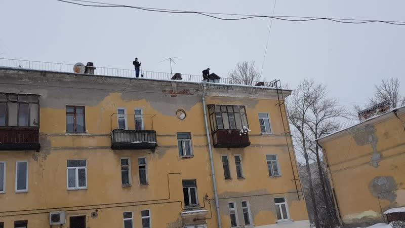Ужасы нашего городка СнегаНет
