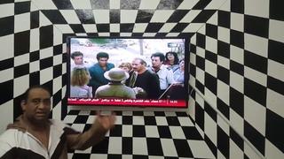 طريقة عمل اطار 3D للتلفزيون محمود ثري دي