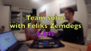 Merry Christmas Team solve with Feliks Zemdegs in 6 64s