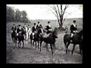 Historical 1934 footage of the Blessing of the Hounds - Rocky Fork Headley Hunt