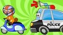 Развивающие Мультики про Машинки – ОГРОМНЫЙ Сборник для Детей – 60 Минут Все Серии