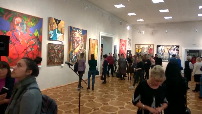 Открытие выставки Красные ворота/против течения