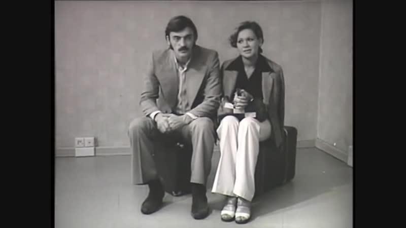 М. Боярский в рекламе мебели по образцам (1974)