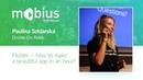 Paulina Szklarska — Flutter — how to make a beautiful app in an hour?